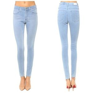 "AG ""The Farrah High-Rise Skinny Crop"" Jeans"
